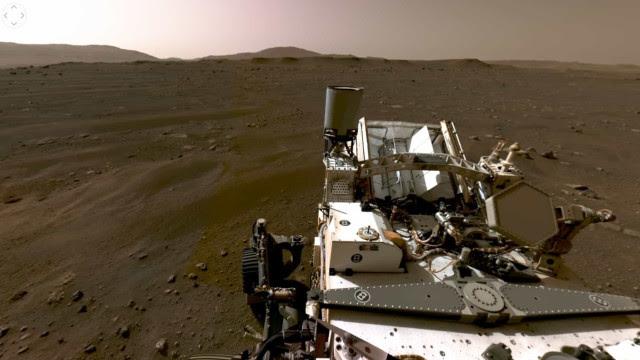 Gravação da NASA revela som (barulhento) do Perseverance em Marte