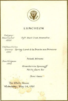 What Jackie Liked to Eat | Kennedy, Jackie, White house
