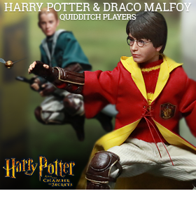 1/6 SCALE CHAMBER OF SECRETS FIGURES