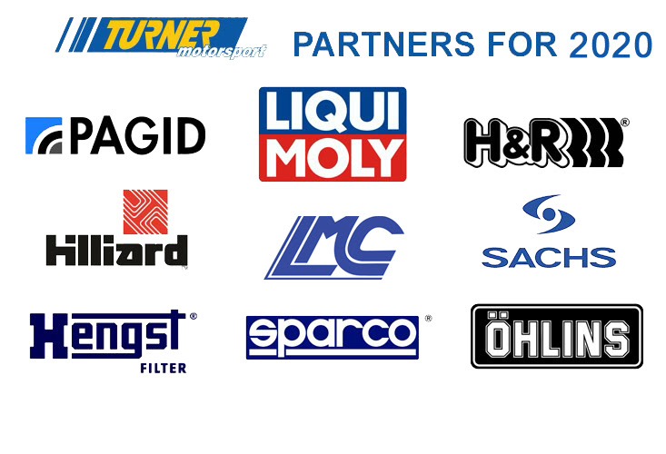 Turner Motorsport Race Partners 2019