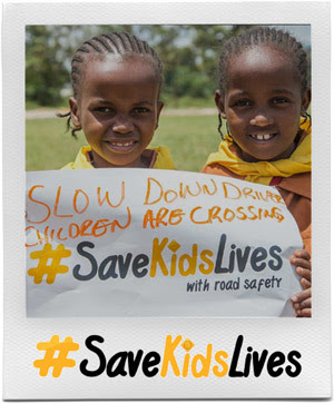 #SaveKidsLives with road safety