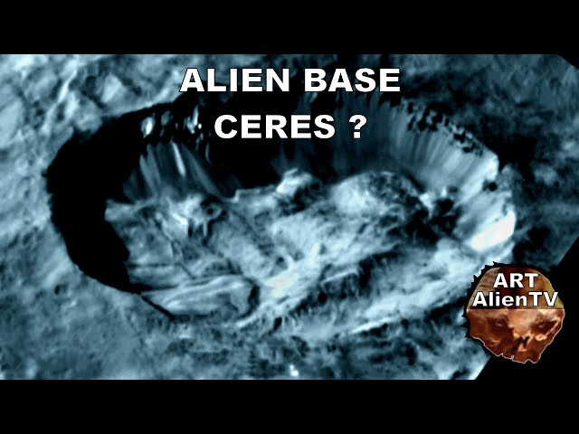 CERES: ALIEN BASE DISCOVERED ? Domes & Buildings up Close !  Sddefault