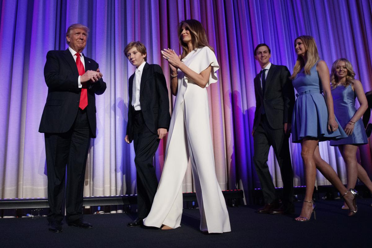 Melania Trump, November 2016