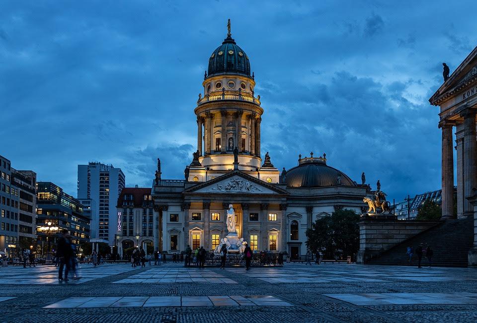 Hora Azul, Berlim, Catedral De Berlim, Céu, Construção