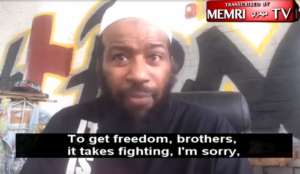 Philadelphia: Muslim cleric says demonstrations are useless, fighting and bloodshed are needed
