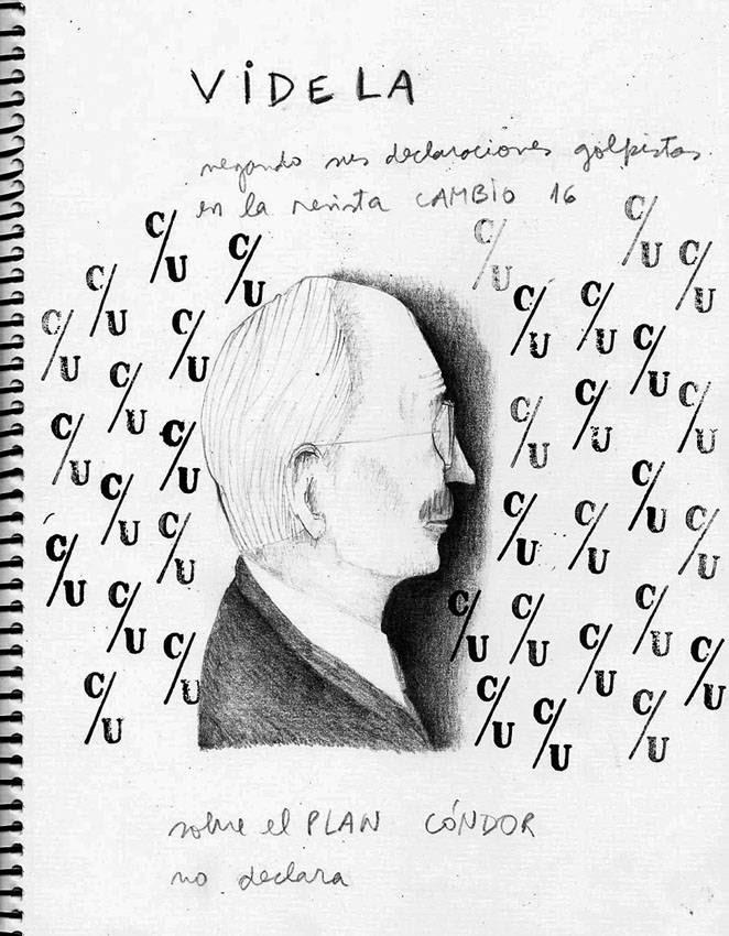 De la serie Victimarios: Jorge Rafael Videla, por María Paula Doberti.