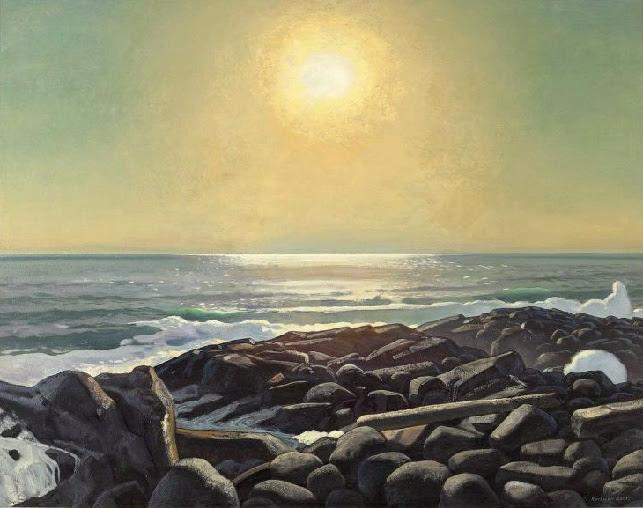 Солнце над морем. Мэн, Монхэган (643x508, 268Kb)