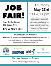May 23 Job Fair 2019