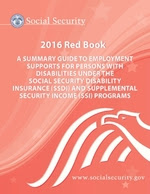 The cover of the Social Security Administration Red Book