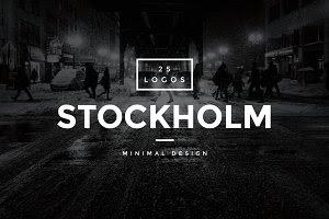 Stockholm - 25 Modern Vintage Logos