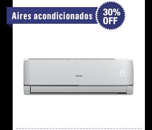Aires acondicionados - 30% OFF. Desde $5.199