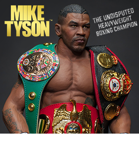 MIKE TYSON 1/6 SCALE COLLECTIBLE FIGURE