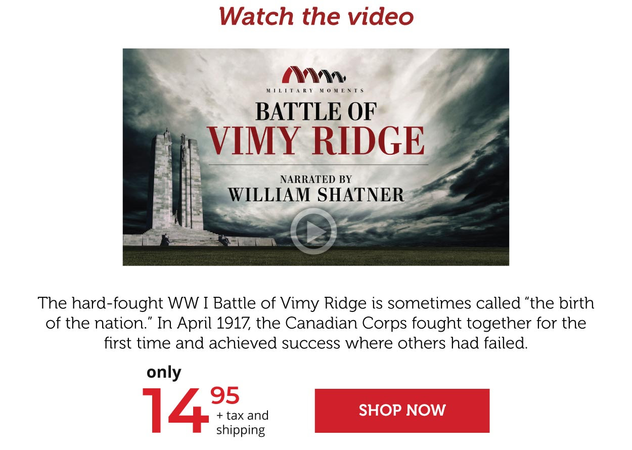 Vimy: The birth of a nation