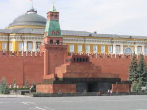 Kod komunikacyjny socjalizmu: hołd-odwiedziny mauzoleum Lenina