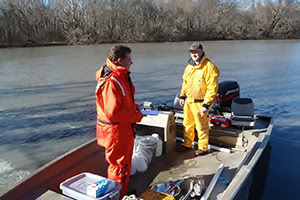 U.S. Fish and Wildlife Service and Duke Energy crews