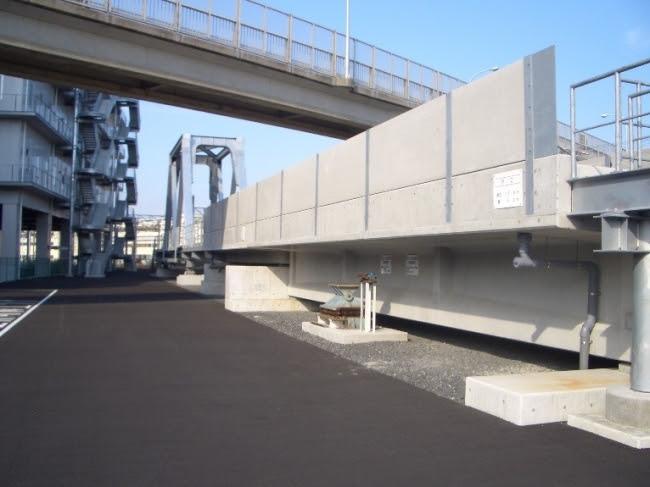 総合研修訓練センター 模擬高架橋