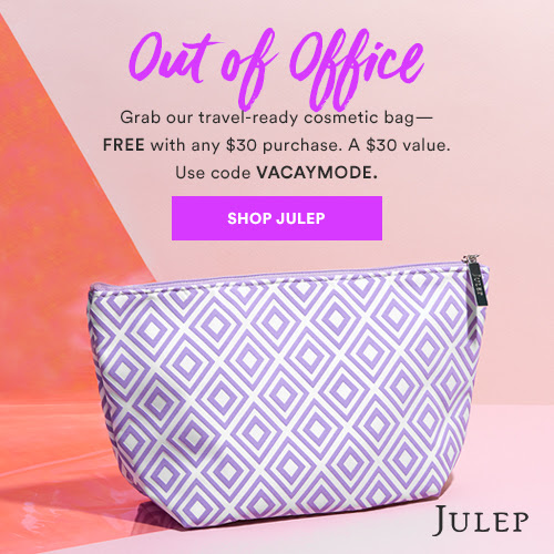 Lilac Cosmetic Bag FREE with any $30 purchase