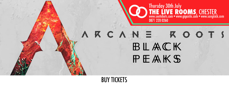 Arcane Roots / Black Peaks @ Live Rooms, Chester