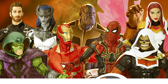 AVENGERS: INFINITY WAR MARVEL LEGENDS FIGURES