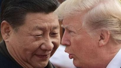 Trump and Shi Jinping