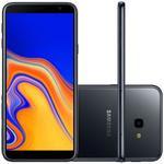 Smartphone Samsung Galaxy J4+ 32GB Dual Chip Tela 6 Câmera 13MP 5MP Android 8.1 Preto