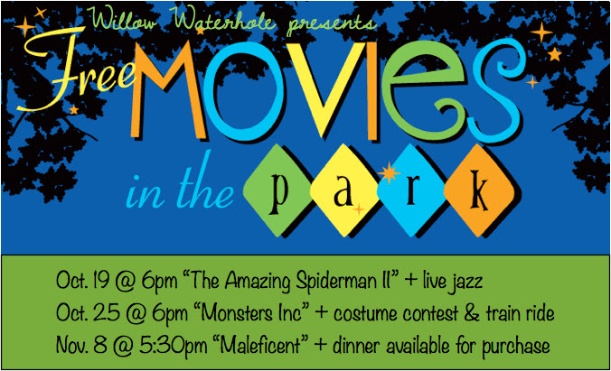 Free Movie in the Park at Willow Waterhole