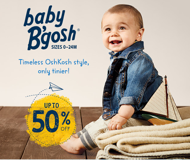 Save big on Baby B'gosh + FREE...
