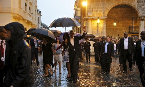 Barack Obama Cuba visit
