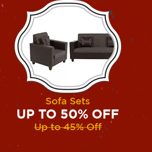 Sofa Sets up to 50% Off