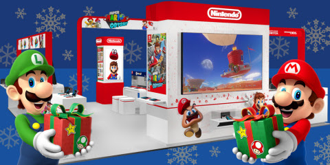 From Nov. 11 to Dec. 17, Nintendo is opening pop-up experiences at 17 malls across the country, allo ...