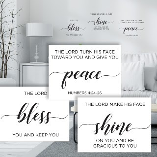 Blessing Wall Decal