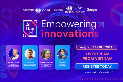 """""""AI Day 2021"""" to bring together world's top-notch AI experts and researchers"""