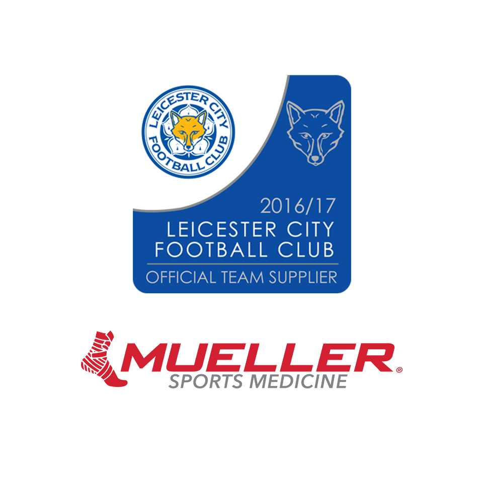 MUELLER® SPORTS MEDICINE PARTNERS WITH CHAMPIONS: ANNOUNCED OFFICIAL TEAM SUPPLIER LEICESTER CITY FOOTBALL CLUB
