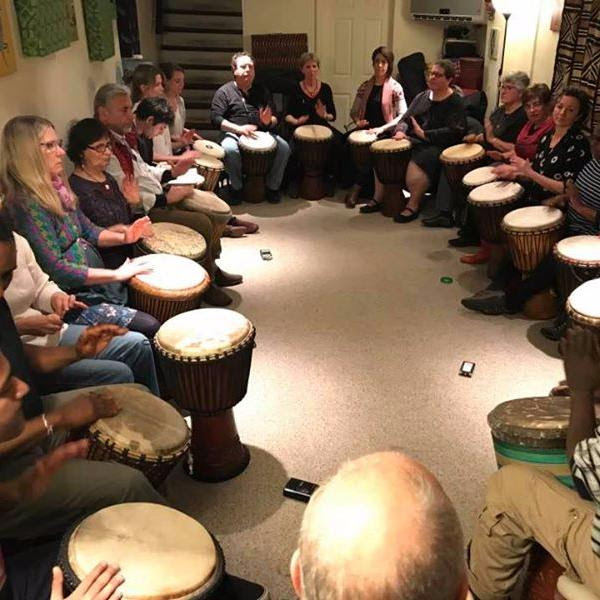 Come to a GREAT drumming class!