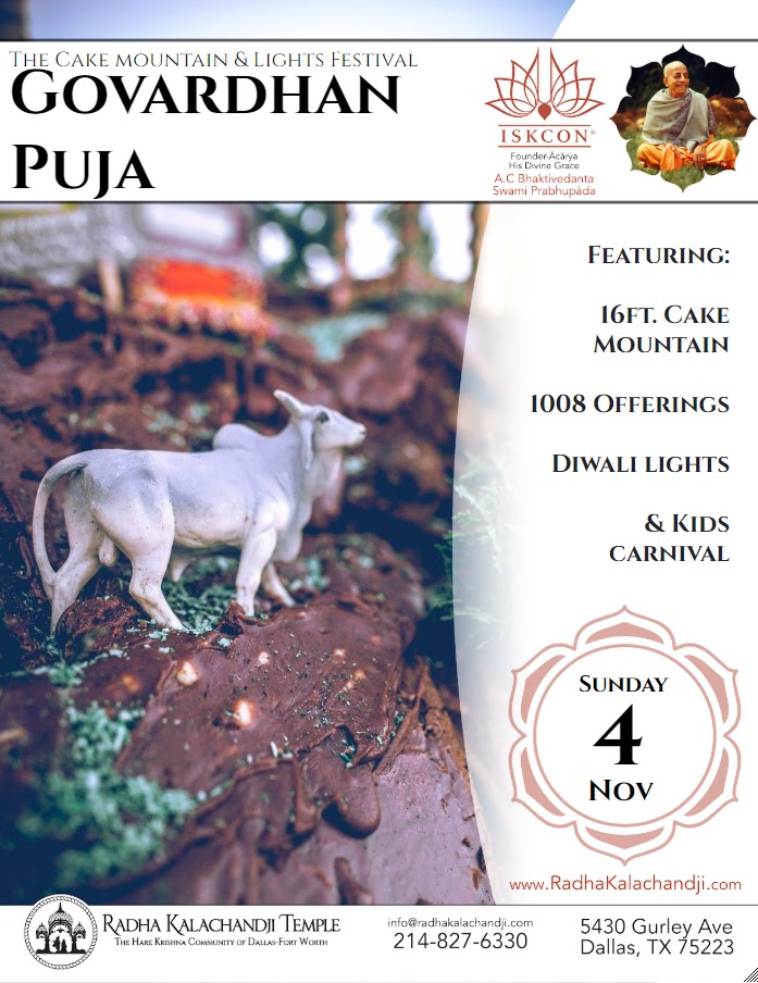 Govardhan Puja & Diwali Festival