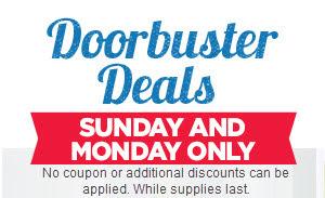 Doorbuster Deals!