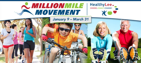 Million Mile Movement January 9 - March 31 2017