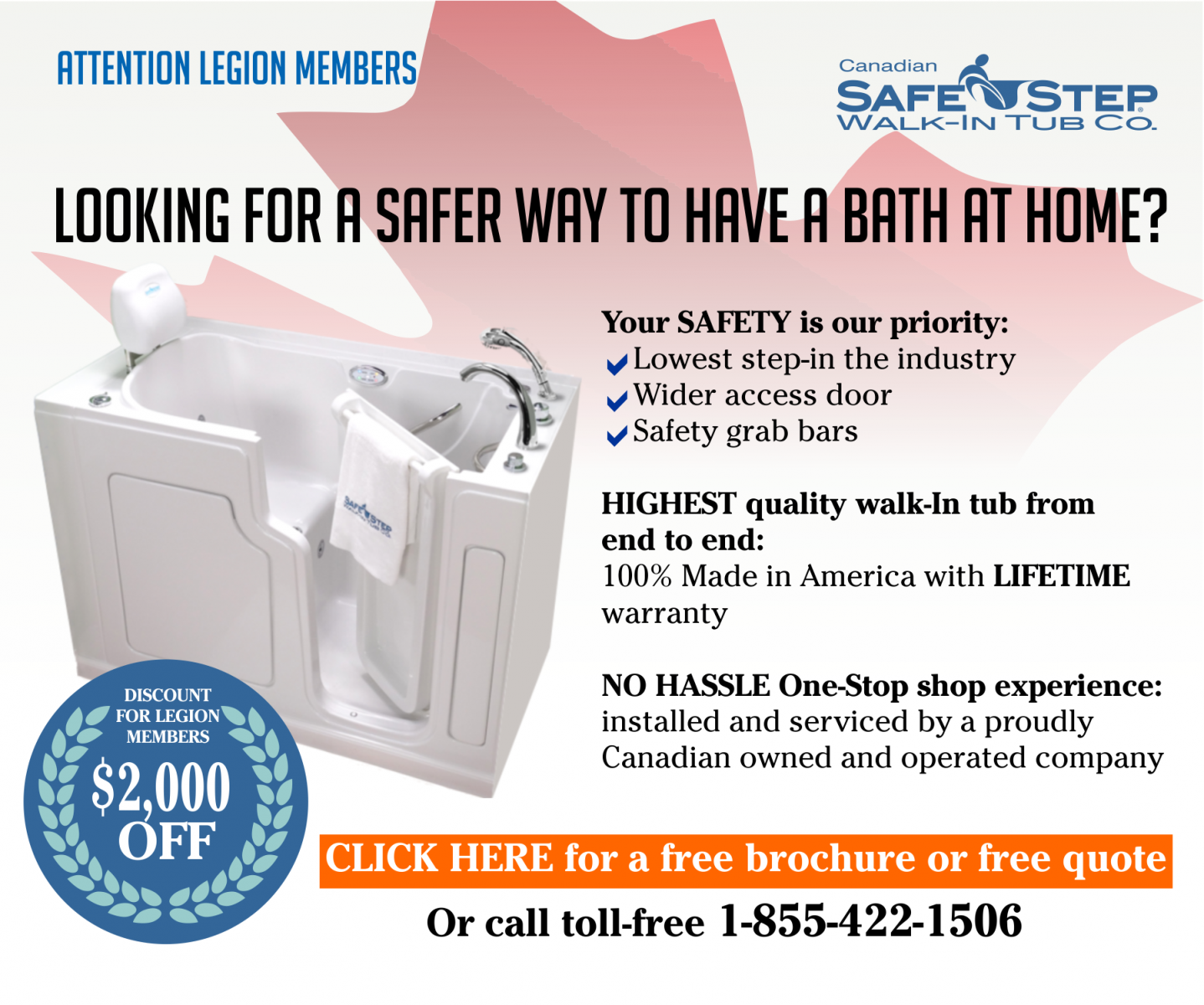 Safe Step Walk-In Tubs