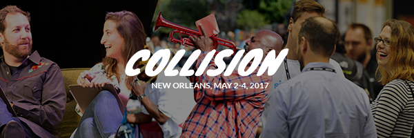 On Cyber Monday, we're holding our biggest ever Collision ticket sale. You can bring a friend to Collision for free by getting two general attendee tickets for the price of one.
