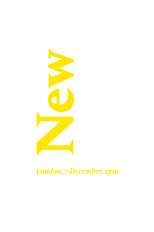 Sale Reminder: New Now, 7 December 2017, London
