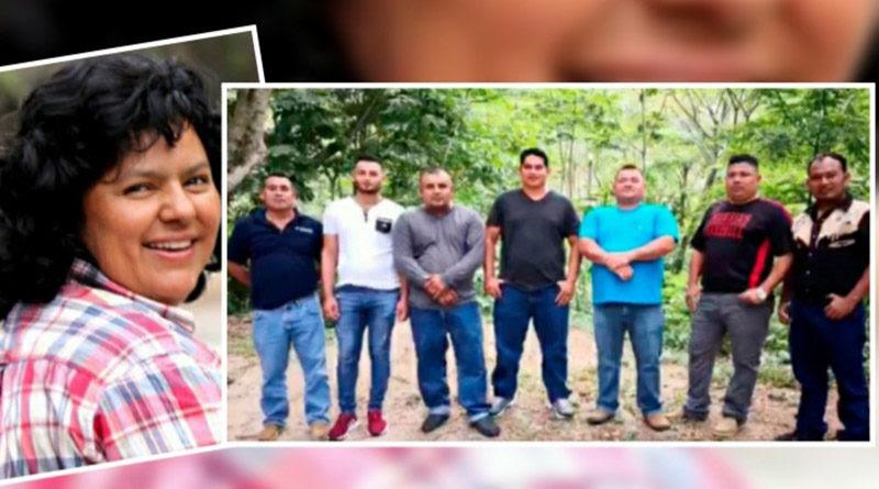 Defensores de Guapinol y Berta Cáceres