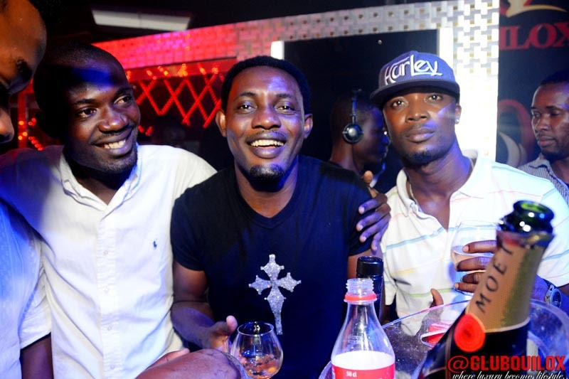 AY Comedian and guest