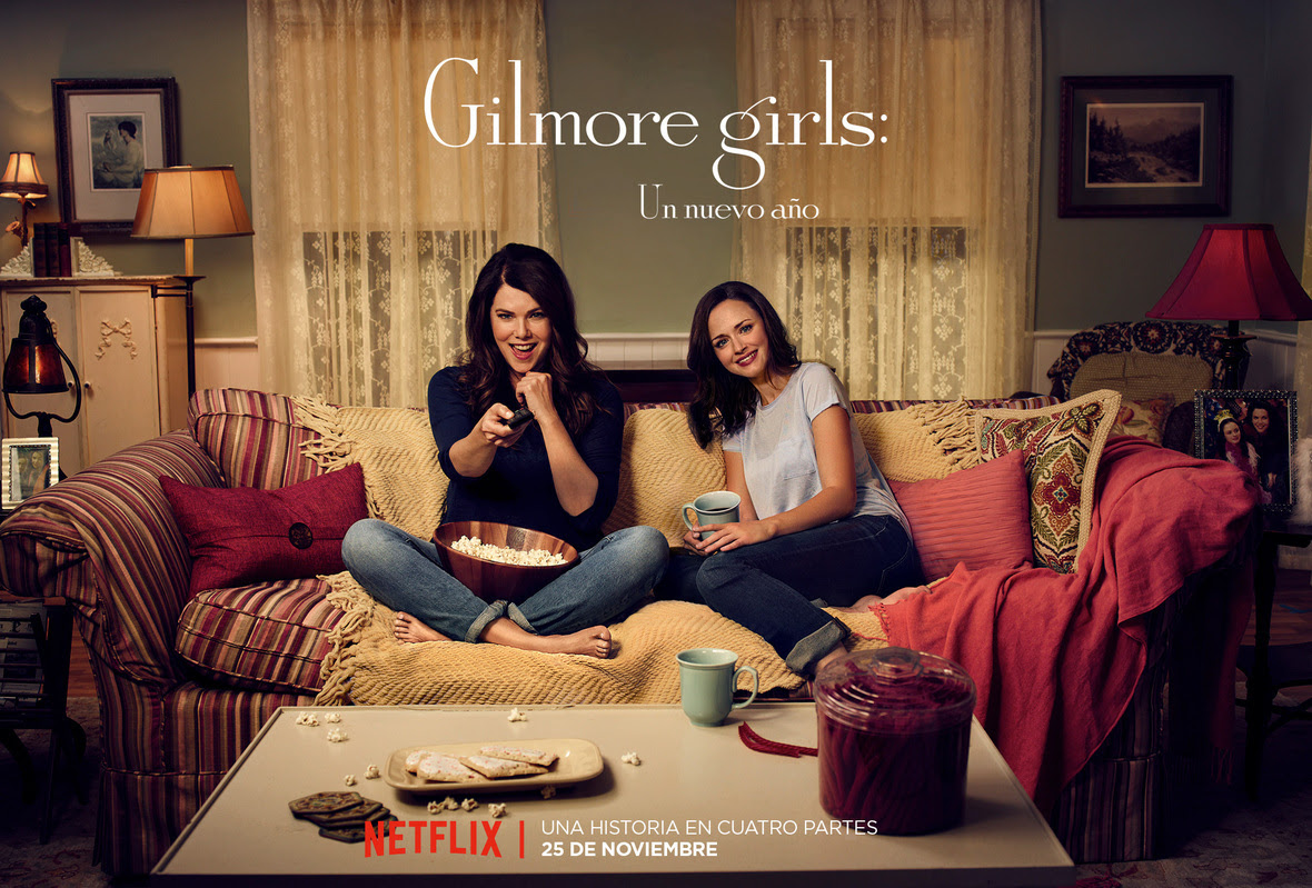 GilmoreGirls MOVIE NIGHT LAS