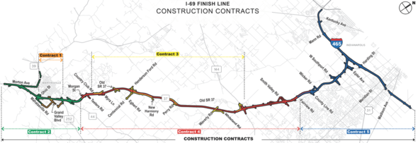 Construction Contracts Map