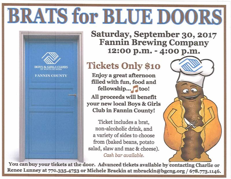 BRATS for Blue Doors Poster
