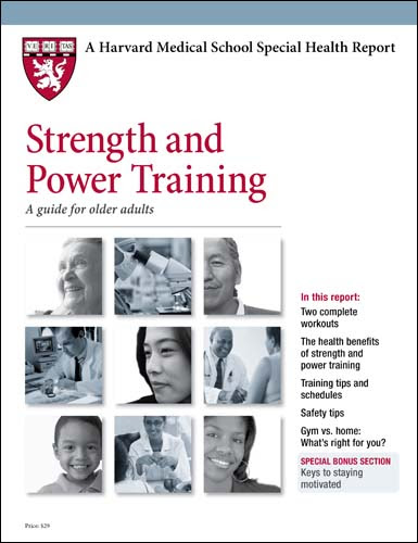 Product Page - Strength and Power Training: A guide for older adults