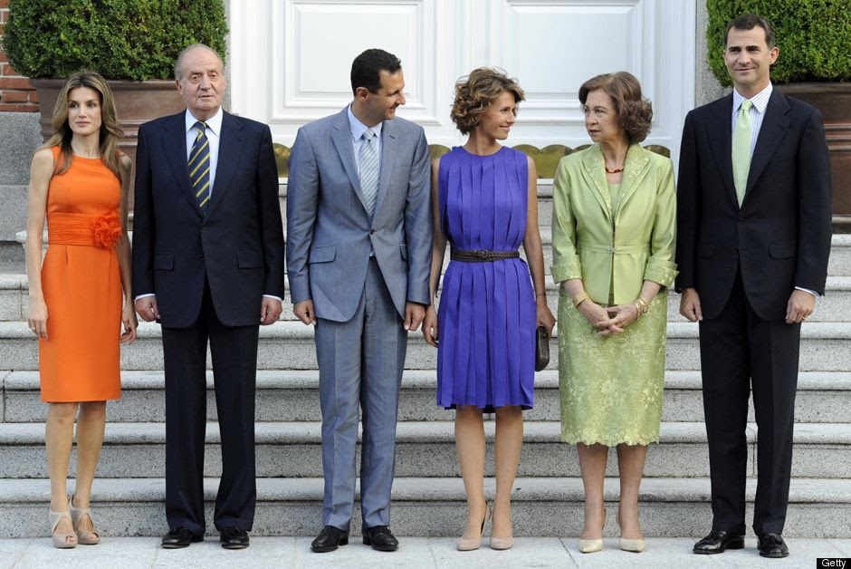 Image result for photos of bashar al assad and his family