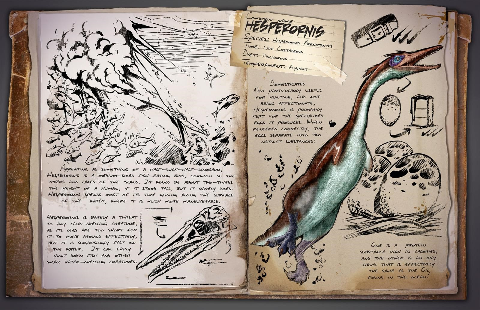 ARK: Survival Evolved - Hesperornis