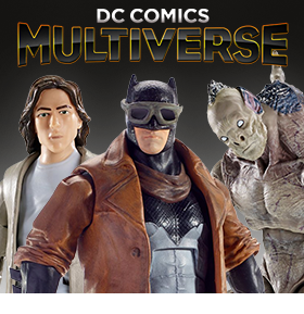 NEW MATTEL 6 INCH MULTIVERSE FIGURES