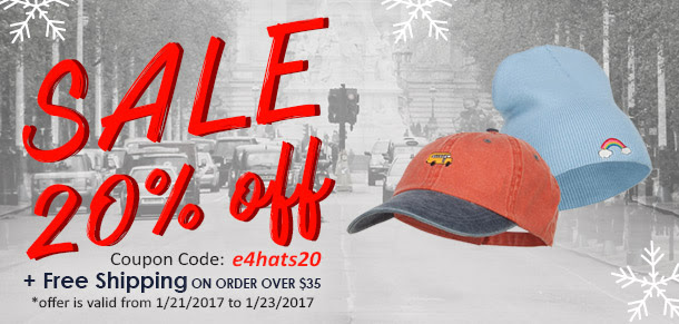 Hot Deal for you at e4Hats: SA...